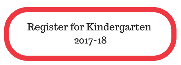 Register for Kindergarten Button