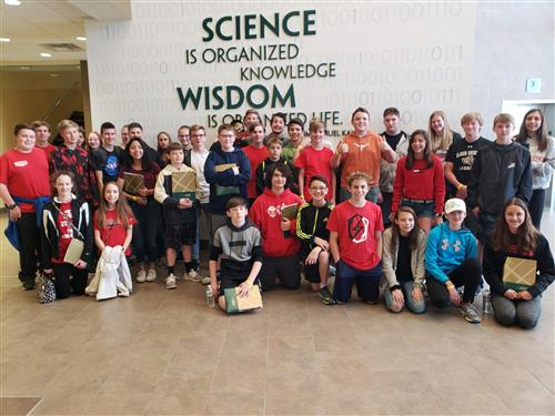 8th Grade Students Visit Harrisburg University of Science & Technology