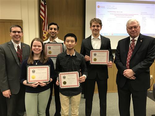 2019 National Merit Scholarship Finalists