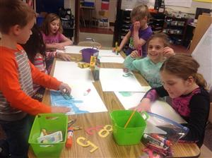 Third grade numbers project