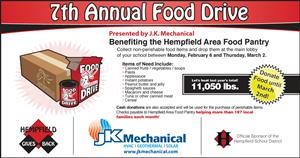 Food Drive Graphic