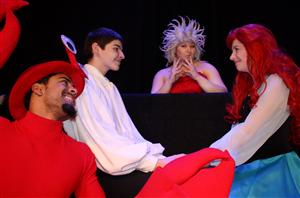 Cast of the Little Mermaid at HHS